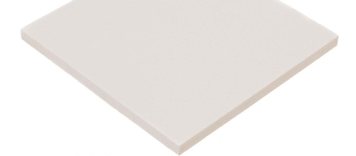 Print Plexiglass alb
